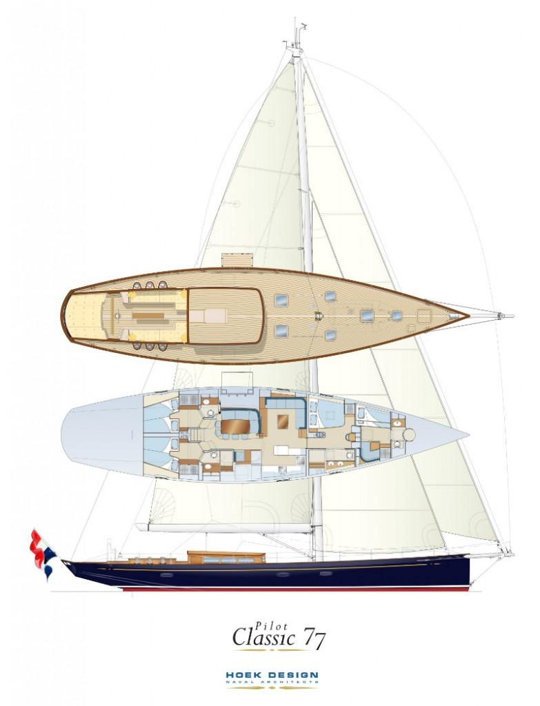 Construction of new Pilot Classic 77 | Claasen Shipyards